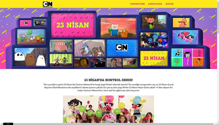 Cartoon,Network,23,Nisan
